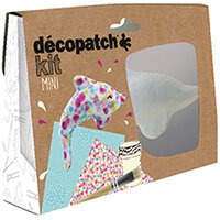 Decopatch Dolphin Mini Kit Pack of 5 KIT016O