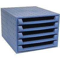 Forever 5 Drawers Set Blue 221101D