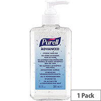 Purell Advanced Hygienic Hand Rub Sanitiser 350ml Bottle (Pack 1) 9659-12-EEU00