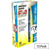 Papermate Replay Premium Blue Pack of 12