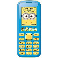 Lexibook GSM20DES Despicable Me Dual Sim 2G Mobile Phone FM Radio, Bluetooth and Torch light - Blue
