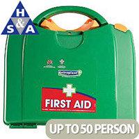 Astroplast Green Box HSA 26-50 Person Food Hygiene First Aid Kit
