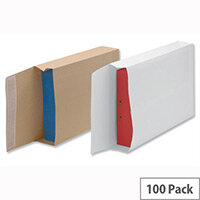 New Guardian Armour Gusset Envelopes 381x279x50mm Manilla 130gsm Peel and Seal Pack of 100