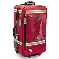 Emergency Respiratory Trauma Trolley Bag Capacity 35 x 60 x 29 cm Red
