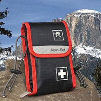 Alpine-Set First Aid Bag For Skiers Up to 5 Person