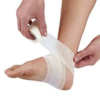Cohesive Bandage 10cm x 4.5m Pack of 1 White 1805003