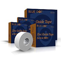 Blue Dot Zinc Oxide Tape 1.25cm x 10m