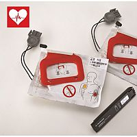 Physio Control LIFEPAK CR Plus Charge Pack & Adult Electrodes Pads (2 Sets)