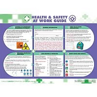 Health and Safety at Work Poster 5405029