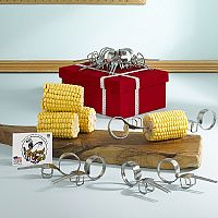 Forked Up Art Corn On Cob Holders - Gift Box