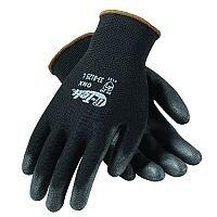 Shield Pu Coated Nylon Black Gloves Size 9 M/L-Men or XXL-Women Pack 1