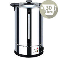 Igenix 30 Litre Catering Hot Water Urn Stainless Steel UNWB26L/H