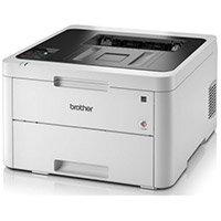 Brother HL-L3230CDW Colour Laser Printer 2400dpi (600x2400 A4, Wi-Fi, 250 sheets, 18ppm, iPrint&Scan, Google Cloud Print 2.0, Apple Airprint, Mopria, Web Connect