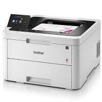 Brother HLL3270CDW Colour Laser Printer, A4, Network/Wi-Fi, 24ppm (BK/CL), Support NFC Interface