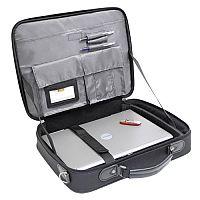 Monolith Black Nylon 15.4 inch Laptop Bag