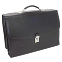 Monolith Deluxe Laptop Case Black Briefcase