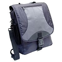 Monolith Nylon Laptop Backpack Black/Grey