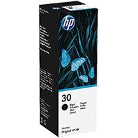 HP 30 135ml Black Ink Bottle 1VU29AE