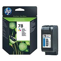 HP 78 Tri-color Inkjet Cartridge C6578D
