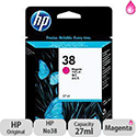 Hewlett Packard No38 Pigment Inkjet Cartridge Magenta C9416A