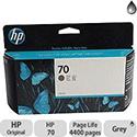 Hewlett Packard No70 Inkjet Cartridge 130ml Grey C9450A