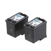 HP 56 Black Ink Cartridge 19ml C9502AE Pack 2