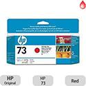Hewlett Packard No73 Inkjet Cartridge Red CD951A