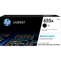 HP 655A Black Original LaserJet Toner Cartridge CF450A
