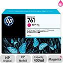 Hewlett Packard No761 Design Jet Inkjet Cartridge 400ml Magenta CM993A