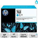 Hewlett Packard No761 Design Jet Inkjet Cartridge 400ml Cyan CM994A