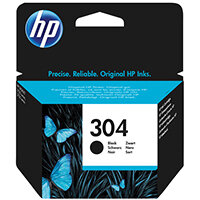 HP 304 Black Ink Cartridge N9K06AE