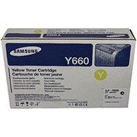 Samsung CLP-Y660A Yellow Standard Yield Toner Cartridge ST953A
