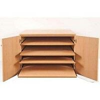 Chart Press with Five Pull-out Shelves SF6 #ST