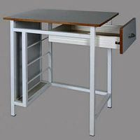Single Art Table With Drawer & Folder Pocket