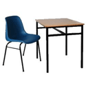 Single Student Table 600x450x760mm