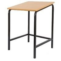 Single Student Table Sloped Top 600x600x700mm