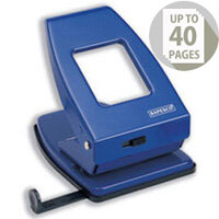 Rapesco Blue 835 Heavy Duty 2-Hole Perforator