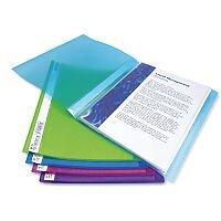 Rapesco A4 Flexi Display Book 40 Pocket Bright Assorted 10pk
