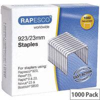 Rapesco Staples 923/23mm Pack of 1000