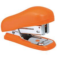 Rapesco Bug Mini Stapler Orange Blister Pack of 12 1410