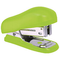Rapesco Bug Mini Stapler Green Blister Pack of 12 1411