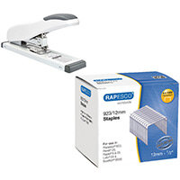 Rapesco ECO HD-100 HD Stapler FOC Rapesco 923 Series Staples P4000 12mm HT810929
