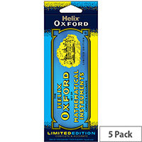 Helix Oxford Limited Edition 9-Piece Maths Set Blue Pack of 5 170518