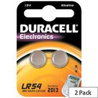 Duracell LR54 Multipurpose Battery 105 mAh Alkaline 1.5 V DC 2 Pack