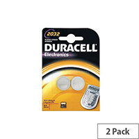 Duracell Multipurpose Battery Lithium (Li) 3 V DC