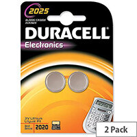 Duracell Battery 3V ELECTRONICS (2 PACK)