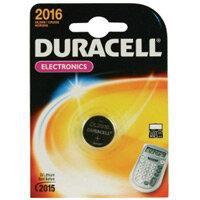 Duracell DL2016 Watch Battery 75 mAh Lithium Manganese Dioxide (Li-MnO2) 3 V DC