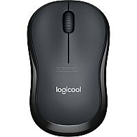 Logitech M220 Mouse Optical Wireless Black Retail Radio Frequency USB