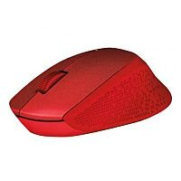 Logitech M330 Mouse Wireless Red Radio Frequency USB