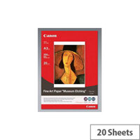 Canon FA-ME1 Fine Art Paper A3 297 mm x 420 mm 20 Sheet